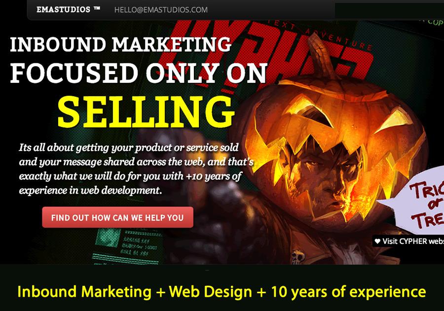A great web design by EmaStudios, Buenos Aires, Argentina: