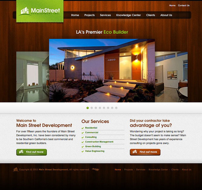 A great web design by Dronestudios, Seattle, WA: