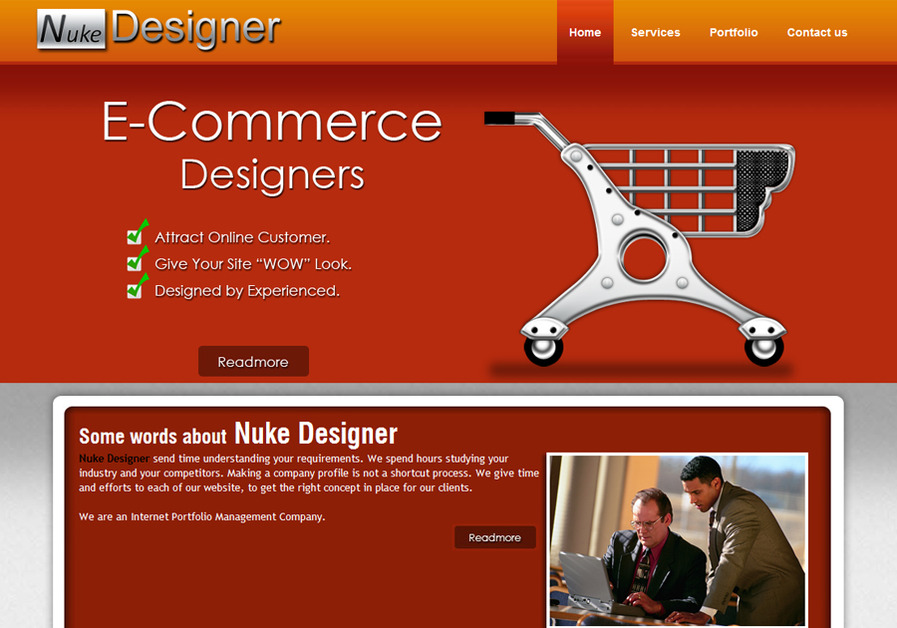 A great web design by Nuke Designer, London, United Kingdom: