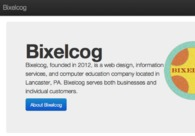 A great web design by Bixelcog, Lancaster, PA: