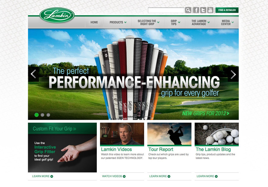A great web design by Tribe Creative, San Diego, CA: