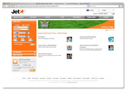 A great web design by reCreativ, Melbourne, Australia: