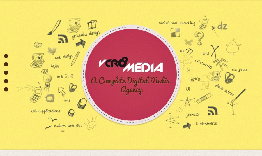 A great web design by Vcr8 Media, Hyderabad, India: