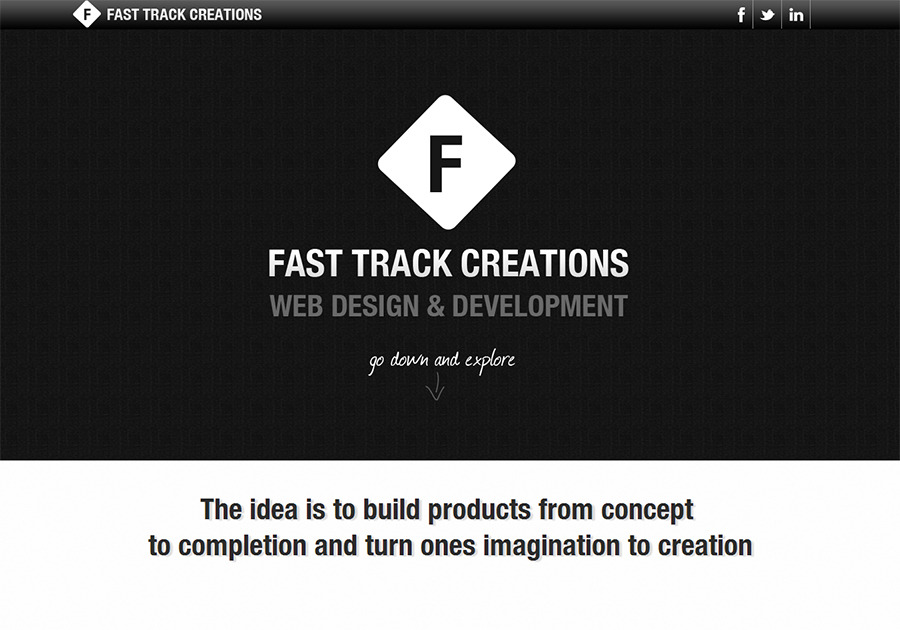 A great web design by Fast Track Creations, New Delhi, India: Responsive Website, Portfolio , Internet , Wordpress