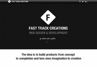 A great web design by Fast Track Creations, New Delhi, India: Responsive Website, Portfolio , Internet , Wordpress