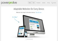 A great web design by PowerPro Live, San Francisco, CA: