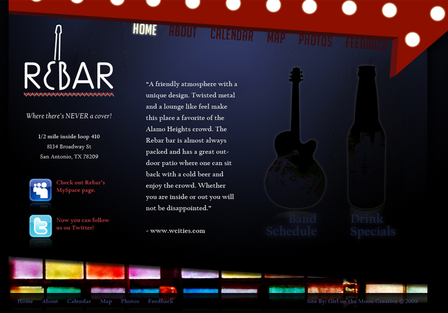 A great web design by Girl On The Moon Creative, Houston, TX:
