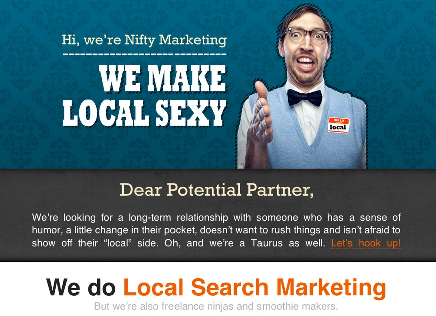 A great web design by Nifty Marketing, Boise, ID: