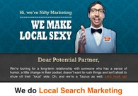 A great web design by Nifty Marketing, Boise, ID: