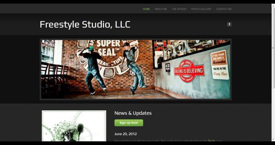 A great web design by Heather Johnson, Fayetteville, AR: