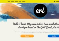 A great web design by Eri Designs, Brisbane, Australia: