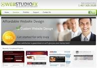A great web design by WebStudioFX: