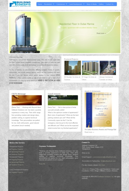 A great web design by SOFTWORK SOLUTIONS LTD, Toronto, Canada: