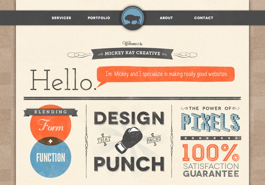 A great web design by Mickey Kay Creative, Berkeley, CA:
