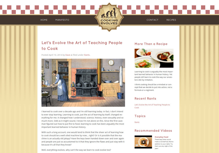 A great web design by Designable Web, New York, NY: Responsive Website, Blog , Food & Beverage , Wordpress