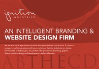 A great web design by Ignition Industries, Edmonton, Canada: