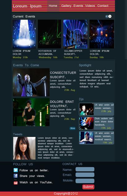 A great web design by infiniartz, Mumbai, India:
