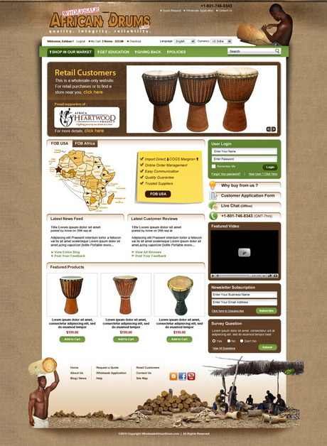 A great web design by HSwebmasters, London, United Kingdom: