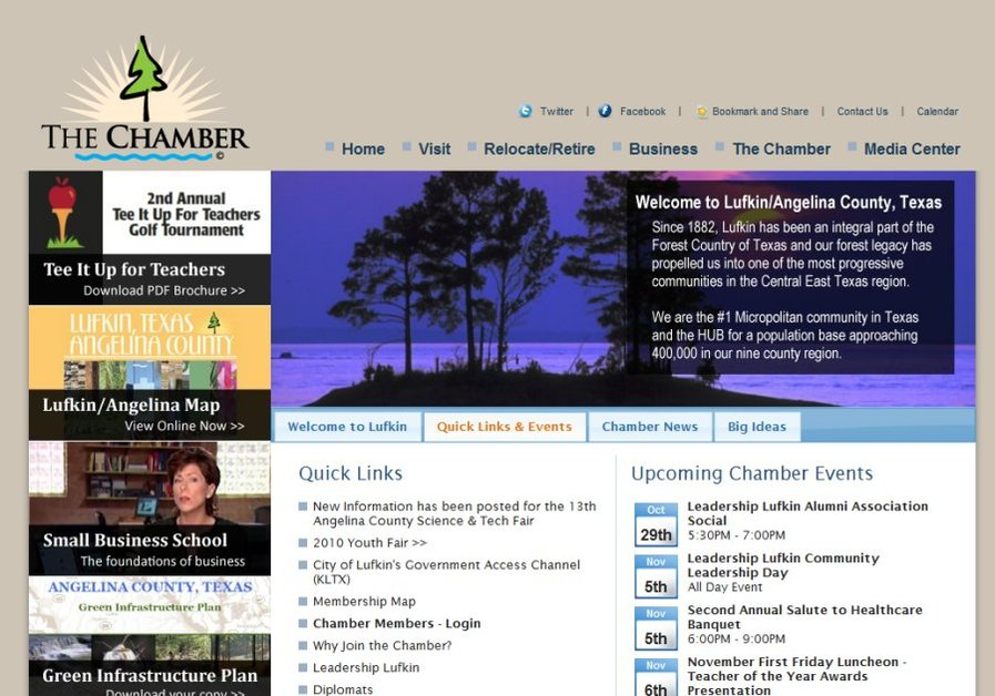 A great web design by MasseyMedia, Inc., Lufkin, TX: