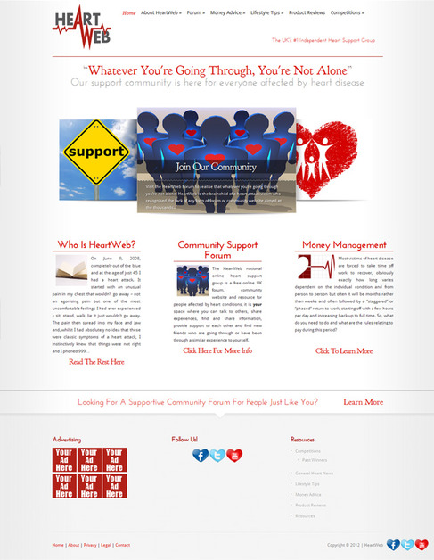 A great web design by Learric Media, Nashville, TN: