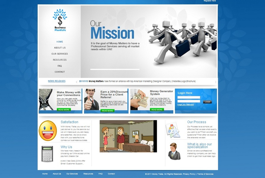 A great web design by Business Plantistic, Abu Dhabi, United Arab Emirates: