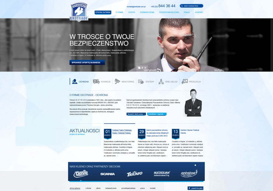 A great web design by Raffine, Warsaw Poland, Poland: