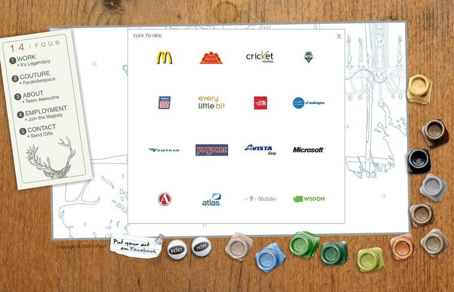 A great web design by 14Four, Spokane, WA: