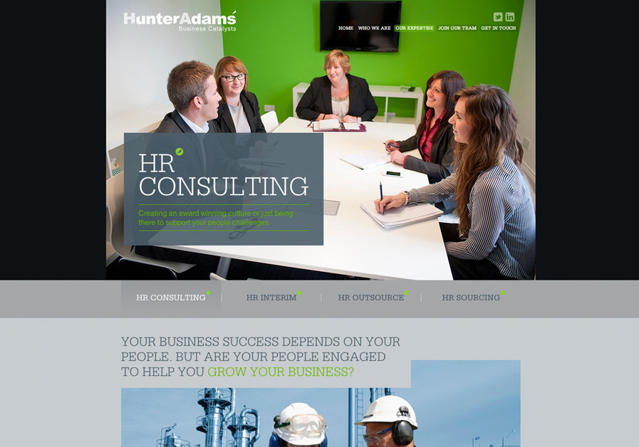 A great web design by EQ, Aberdeen, United Kingdom:
