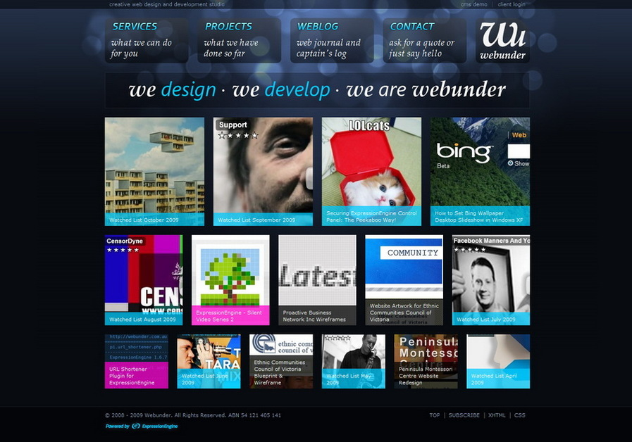 A great web design by Webunder, Melbourne, Australia: