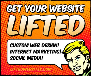 A great web design by Lifted Websites, Phoenix, AZ: