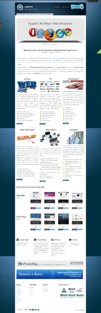 A great web design by e-Queries, Leeds, United Kingdom: