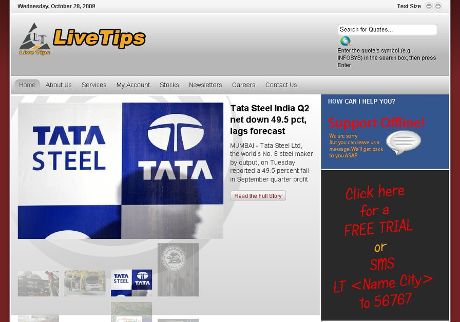 A great web design by Vavia Technologies, Bangalore, India: