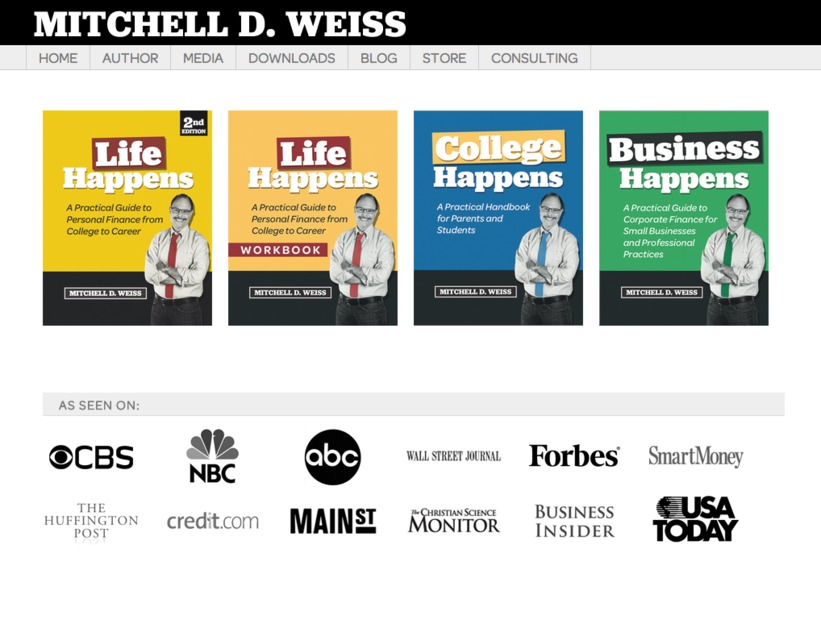 A great web design by Michael Wilson Web Design + Social Media, Amherst, MA: