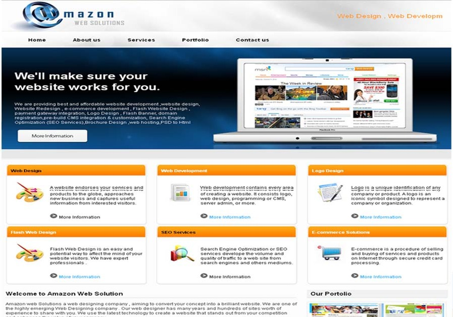 A great web design by AmazonWeb Solutions, New York, NY: