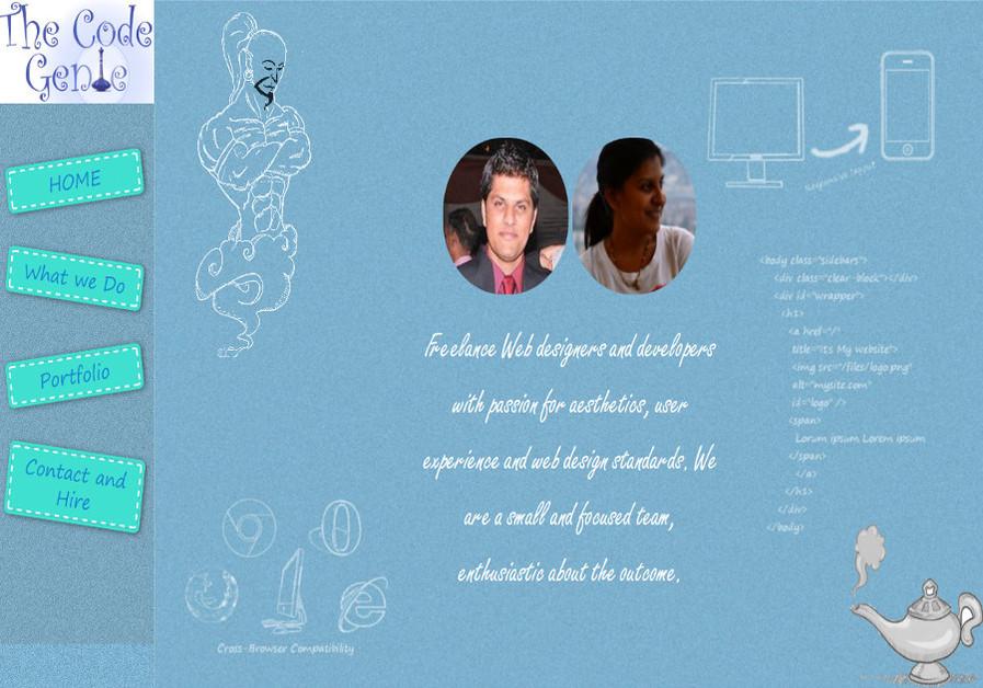 A great web design by The Code Genie, New Delhi, India: