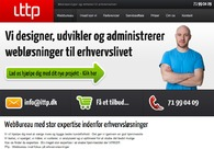 A great web design by ITtp, Hjoerring, Denmark: