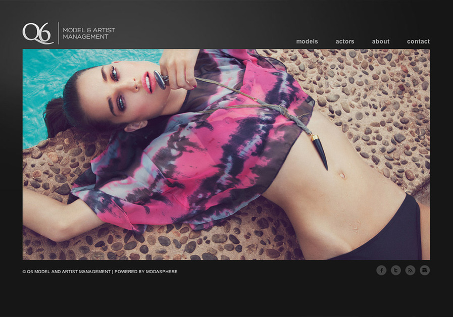 A great web design by Modasphere, New York, NY: