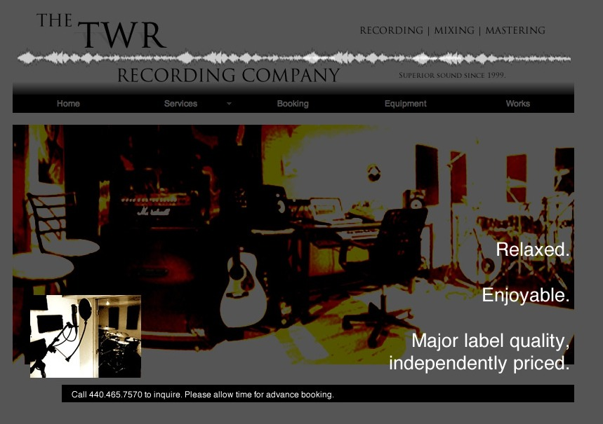 A great web design by Jesse Carter, Cleveland, OH: