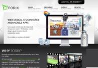 A great web design by Forix, San Francisco, CA:
