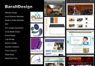 A great web design by BaraltDesign, Seattle, WA: