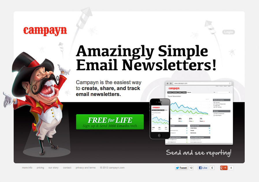 A great web design by Campayn.com, Toronto, Canada:
