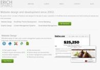 A great web design by Erich Sparks, Denver, CO: