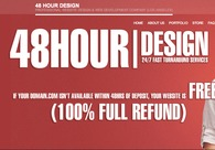 A great web design by 48HR Design, Los Angeles, CA: