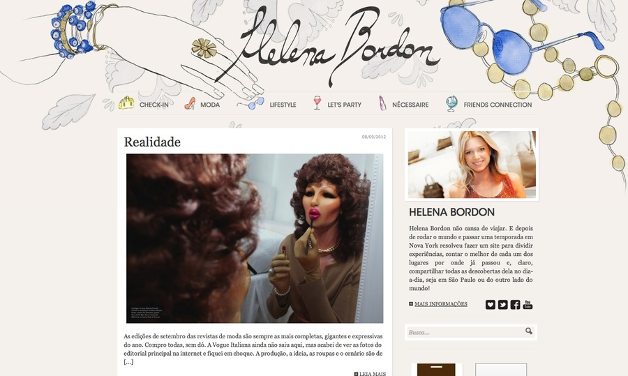 A great web design by Felipe Tofani - Freelance Multimedia Designer, Berlin, Germany: