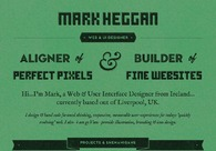 A great web design by Mark Heggan, Liverpool, United Kingdom: