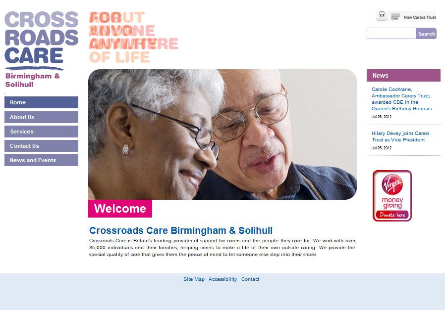 A great web design by iomedia, Birmingham, United Kingdom: