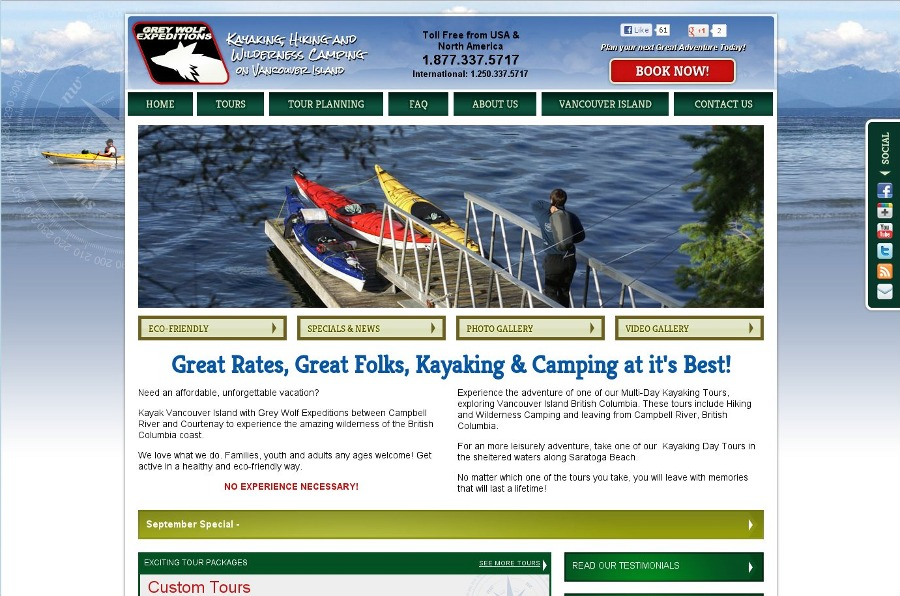 A great web design by TIMR Web Services, Courtenay BC, Canada: