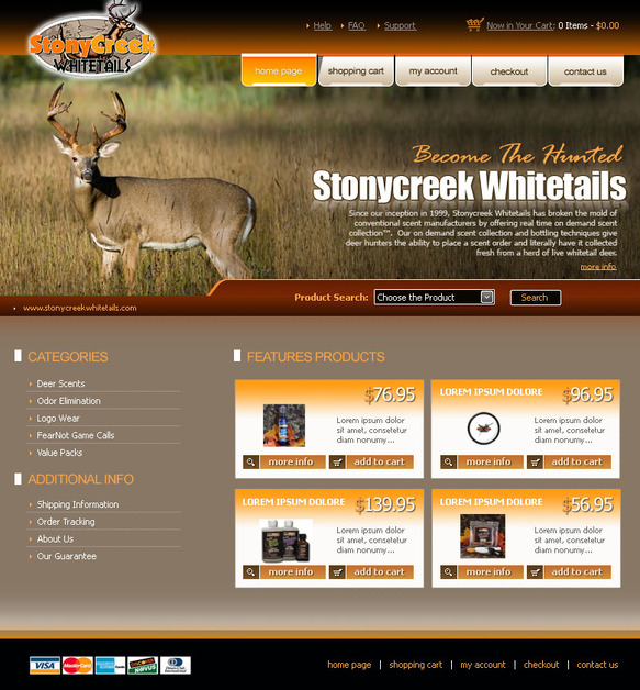 A great web design by CNC Web Solutions, Chicago, IL: