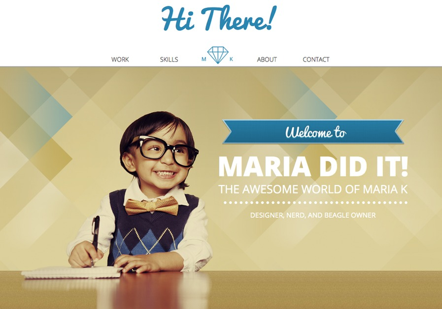 A great web design by Maria Did It!, Sacramento, CA: