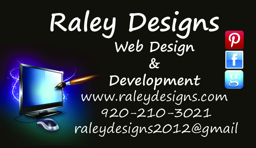 A great web design by RALEY DESIGNS, Madison, WI: